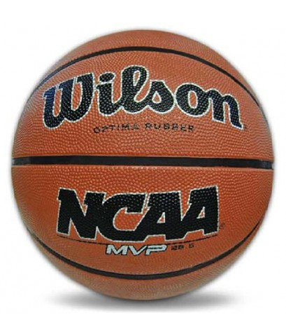 Wilson : WLS04195* ลูกบาส NCAA MVP Opitma Rubber Basketball