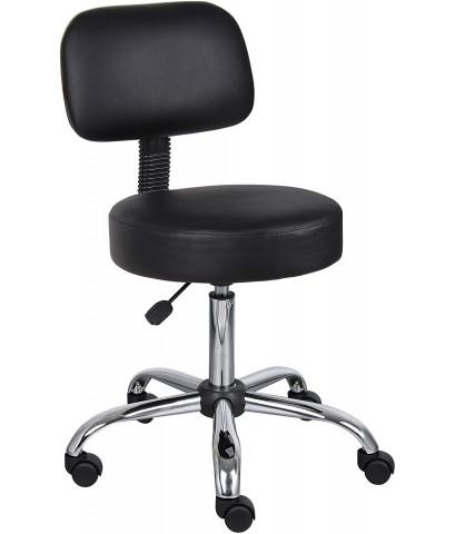 Boss Office Products : BOPB245-BK* เก้าอี้ Be Well Medical Spa Stool, Black