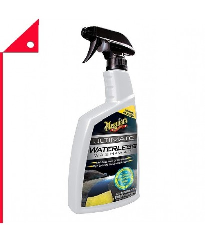 Meguiar\'s : MGRG3626* น้ำยาล้าง  เเว็กซ์รถยนต์ Meguiar\'s Ultimate Waterless Wash  Wax 26oz.