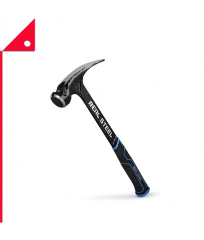 Real Steel : RLS0517* ค้อน Ultra Framing Hammer with Milled Face, 21 oz