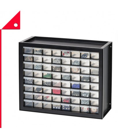 IRIS USA : IRU 587634* ชั้นเก็บของ Drawer Parts And Hardware Cabinet, Black