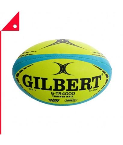 Gilbert : GIB42098004* ลูกรักบี้ G-TR4000 Training Rugby Ball, Flouro - Size 4