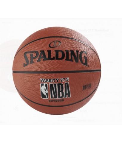 Spalding : SPD71155E* ลูกบาสเกตบอล NBA Varsity Basketball, Size 5