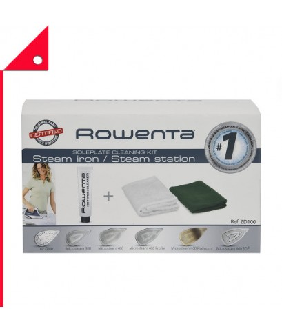 Rowenta : RWT ZD100* ชุดทำความสะอาดหน้าเตารีด Soleplate Cleaner Kit