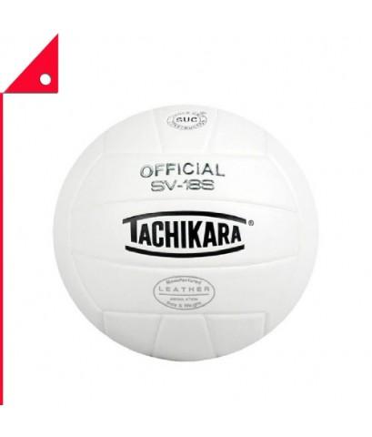 Tachikara : TCKSV-18S-BKW* ลูกวอลเลย์บอล  Leather Volleyball, Royal-White