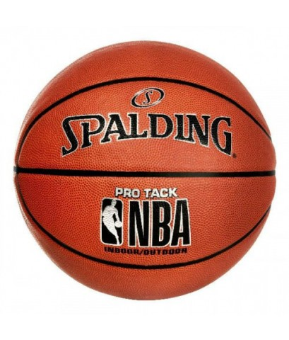 Spalding : SPD74997* ลูกบาสเก็ตบอล NBA Pro Tack Size 6