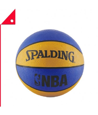 "Spalding : SPD65961* ลูกบาสเกตบอล NBA Mini Basketball, Blue/Orange 22"""