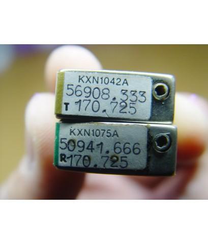 แร่ความถี่วิทยุสื่อสารโบราณ MOTOROLA 2คู่ความถี่