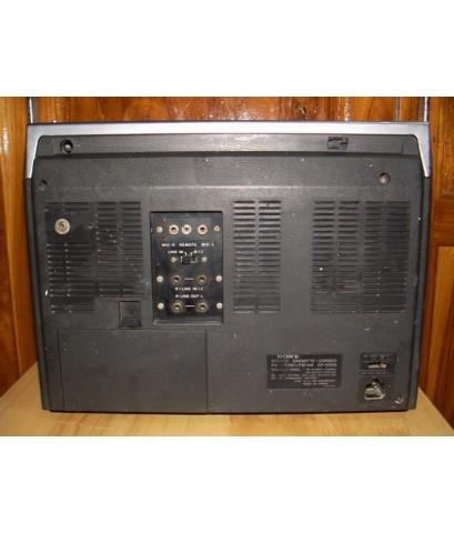 วิทยุโบราณ SONY CF-550B 4 ลำโพง ใช้งานได้ปกติ