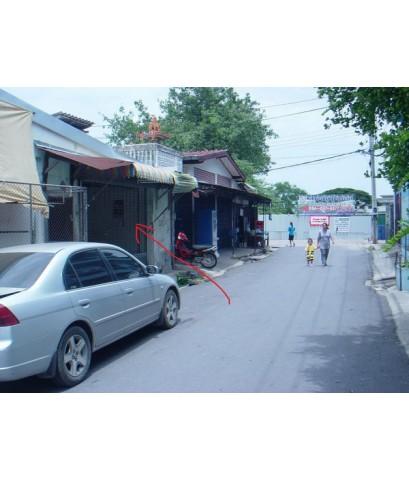 ห้องแถวชั้นเดียวให้เช่าอยู่อาศัย ค้าขายได้เล็กๆน้อยๆ ในซอยเพชรเกษม71