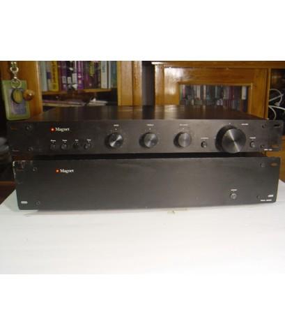 Magnet MA-200 Amp+ Magnet PR-3a Preamp