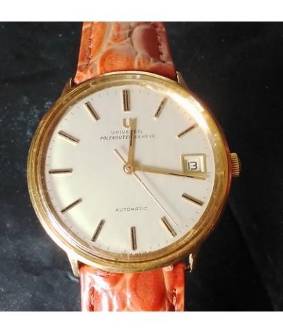 นาฬิกา UNIVERSAL POLEROUTER GENEVE SOLID GOLD 18K