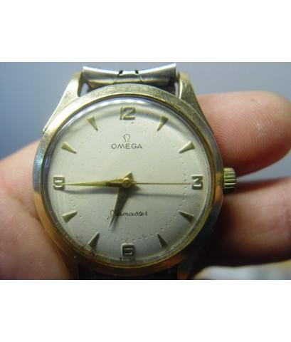 นาฬิกา BRUCA เคสทองแปะ Swiss เปลี่ยนใส่หน้าปัทม์ Omega ใช้งานได้ปกติ