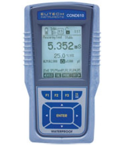 เครื่องวัดค่าการนำไฟฟ้า, TDS, Salinity, Resistivity และอุณหภูมิ Eutech Cyberscan COND610