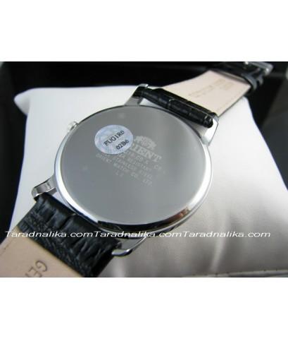 นาฬิกา Orient ควอทซ์ ORUG1R002B simply design สายหนังแนวย้อนยุค