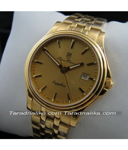 นาฬิกา Olym pianus sapphire 1004M-405E เรือนทอง