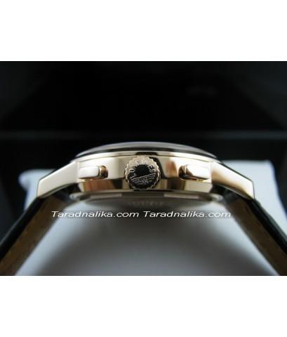 นาฬิกา Longines Flagship automatic Chronograph L4.756.8.72.2 ทอง 18K(ขายแล้วครับ)