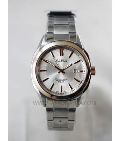นาฬิกา ALBA Prestige gent AS9192X1 pinkgold