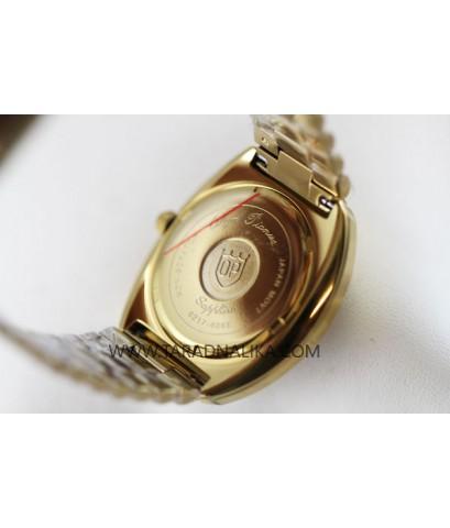 นาฬิกา Olym pianus gent sapphire 8217-406E เรือนทอง พลอย 14 เม็ด