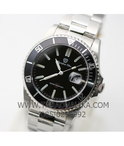 นาฬิกา Olympia Star sapphire new submariner 899831.TG-204 หลอดแก็สเรืองแสง