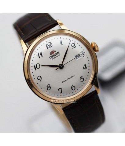 นาฬิกา Orient Automatic Classic pinkgold สายหนัง ORRA-AC0001S