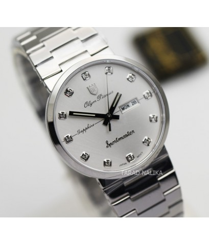 นาฬิกา Olym pianus sportmaster ควอทซ์ sapphire 890-09M-406E