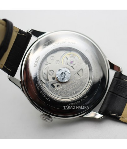 นาฬิกา Orient Automatic Semi skeleton  สายหนัง ORRA-AG0014S