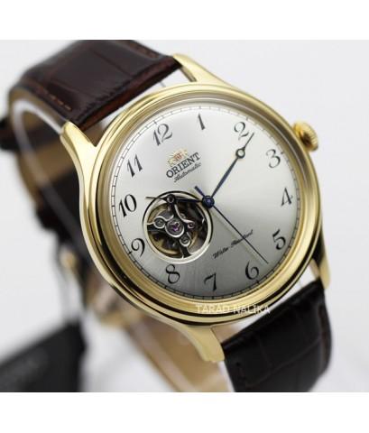 นาฬิกา Orient Automatic Semi skeleton สายหนัง ORRA-AG0013S
