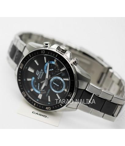 นาฬิกา CASIO Edifice chronograph EFR-552SBK-1AVUDF(ประกัน cmg)