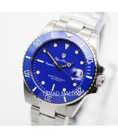 นาฬิกา Olym pianus Automatic submariner Ceramic sapphire 899831AG-434 blue dial