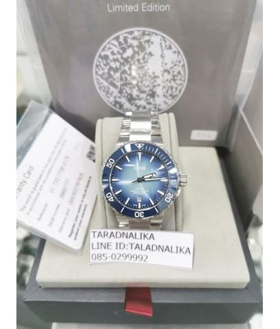 นาฬิกา Oris Aquis Lake Baikal limited edition 73377304175SET