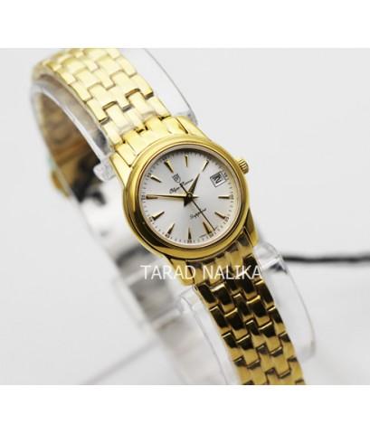 นาฬิกา Olym pianus sapphire lady 5672L-406E เรือนทอง