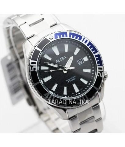นาฬิกา ALBA Smart gent AG8K33X1 หน้าปัดดำน้ำเงิน