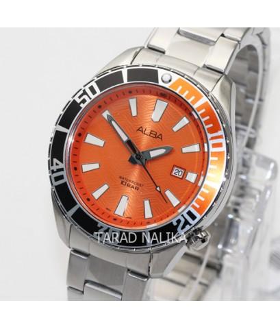 นาฬิกา ALBA Smart gent AG8K27X1 หน้าปัดส้ม