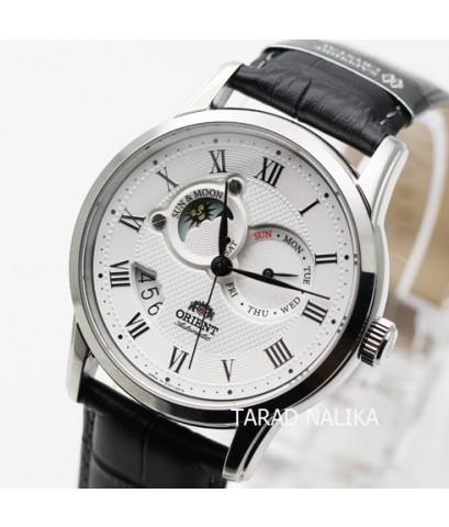 นาฬิกา Orient Sun-Moon Automatic Classic Sapphire สายหนัง ORET0T002S