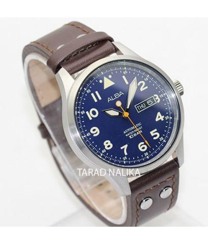 นาฬิกา  ALBA  Active Automatic AL4207X1 สายหนัง