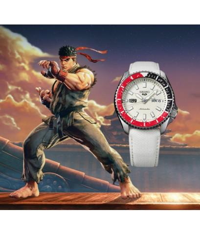 นาฬิกา SEIKO 5 Sports Automatic Street Fighter V SRPF19K1 limited edition 9,999 pieces