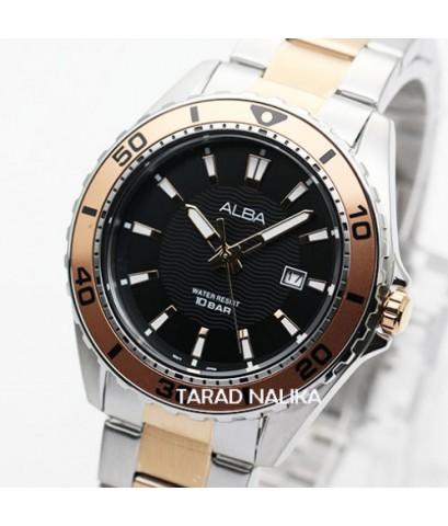 นาฬิกา ALBA Active gent AG8L17X1 สองกษ้ตริย์ pinkgold