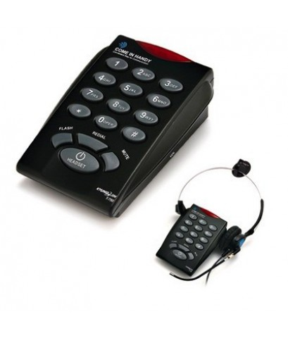 โทรศัพท์ + ชุดหูฟัง Call Center Headset รุ่น T-750