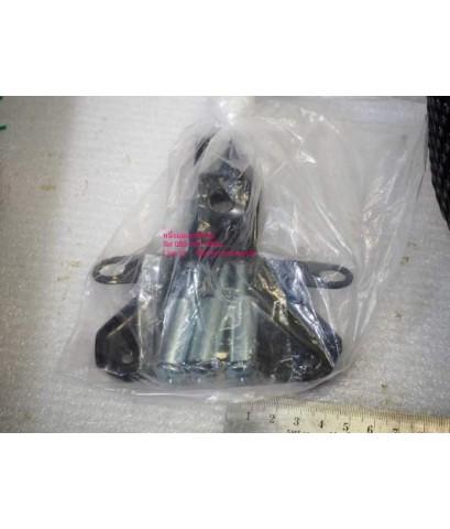 ตะกร้า CLICK-07 Honda หน้า สีดำ พร้อมขายึด