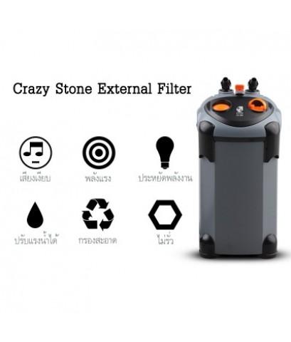 กรองนอกตู้ Crazy Stone CS-1400 สำหรับตู้ปลา ตู้ไม้น้ำขนาด 90 - 120 ซม. (36-48 นิ้ว)