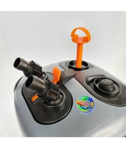 SOBO SF-850F-UV กรองนอกตู้ปลา มียูวี 7 วัตต์  850 L/H สำหรับตู้ขนาด 24-30 นิ้ว