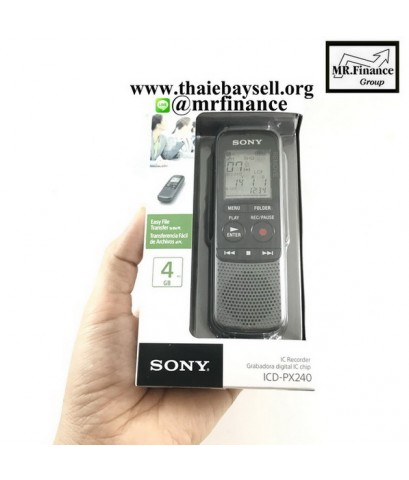 เครื่องบันทึกเสียงโซนี่ Sony ICD-PX240 ของใหม่ ของแท้