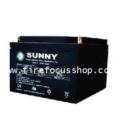 แบตเตอรี่แห้งชนิดตะกั่วกรดขนาด 12V-40AH ยี่ห้อ Sunny