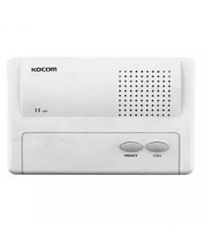 KOCOM KIC-300S Intercom (Sub), ใช้ Adaptor DC6V (battery) หรือ ใช้ถ่ำน AA 4 ก้อนได้