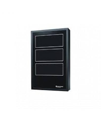 Door, lock  keys. Accepts 3 chassis, black.รุ่น DR-C4 ยี่ห้อ Notifier