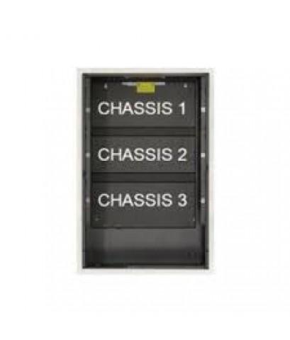 Backbox, 3 chassis, black.รุ่น SBB-C4 ยี่ห้อ Notifier