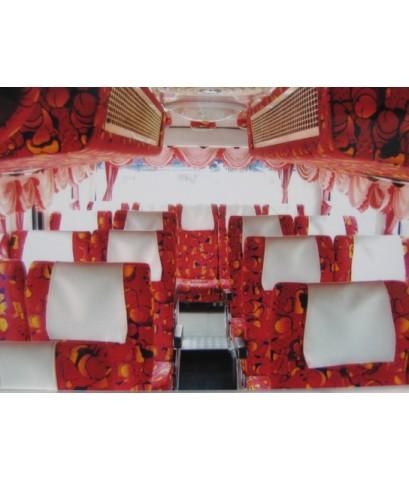 รถบัสให้เช่า  รถปรับอากาศ VIP 6 ล้อ ชั้นครึ่ง  ขนาด 41 ที่นั่ง  รุ่นใหม่ล่าสุด ให้เช่า