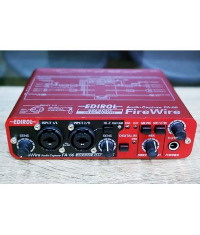 EDIROL FA-66 Audio Capture 24bit 192kHz 6in 6out