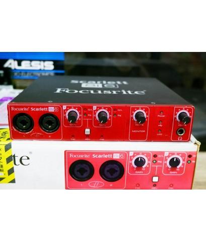 Focusrite SCARLETT (ENGLAND) 8i6 USB2.0 MIDI  Audio Interface 8in 6out 24bit 96kHz